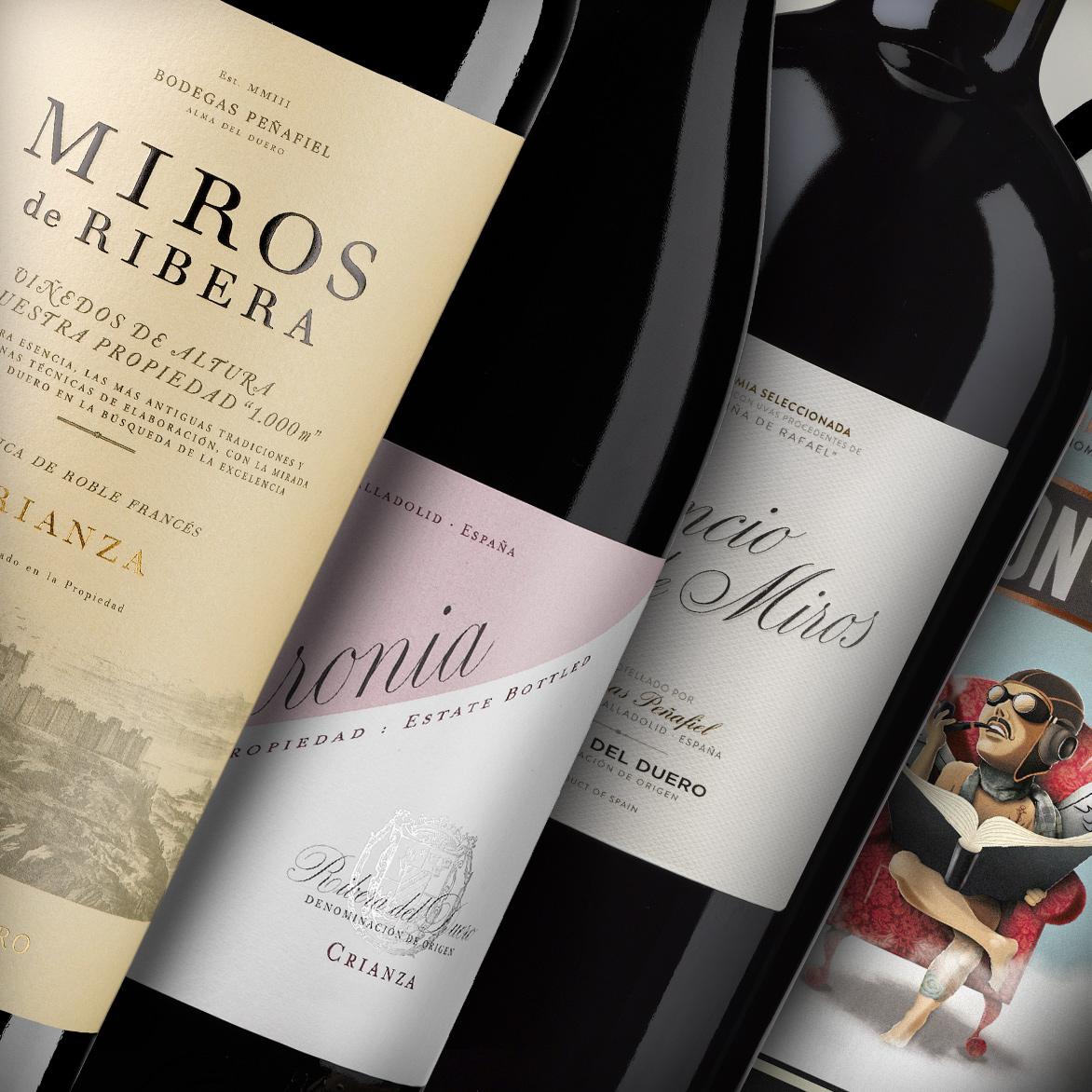 Familia vinos Peñafiel